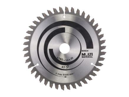 Bosch Professional Multi Material cirkelzaagblad 160mm 42T