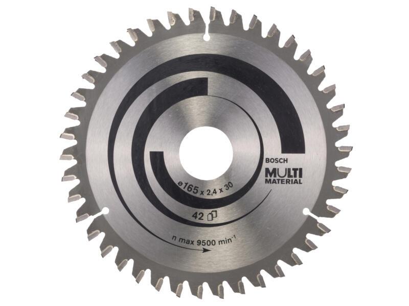 Bosch Professional Multi Material lame de scie circulaire 165mm 42D