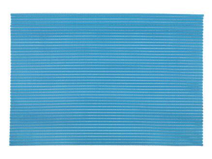 Differnz Multi antislip badmat PVC 65x45 cm blauw