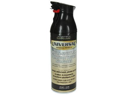 Multi-lakspray universal hoogglans 0,4l zwart
