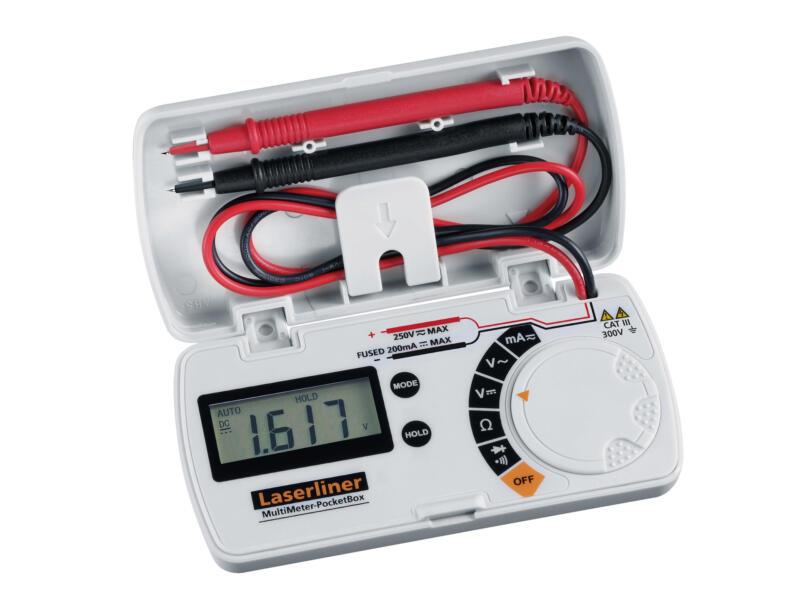 Laserliner MultiMeter PocketBox multimètre