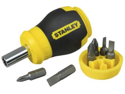 Stanley Multibit tournevis 6 bits