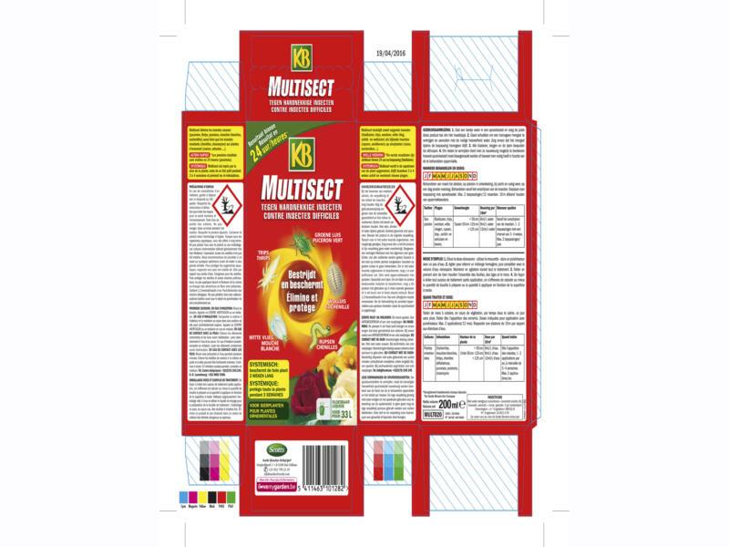 Kb Multisect insecticide poeder voor sierplanten 200ml