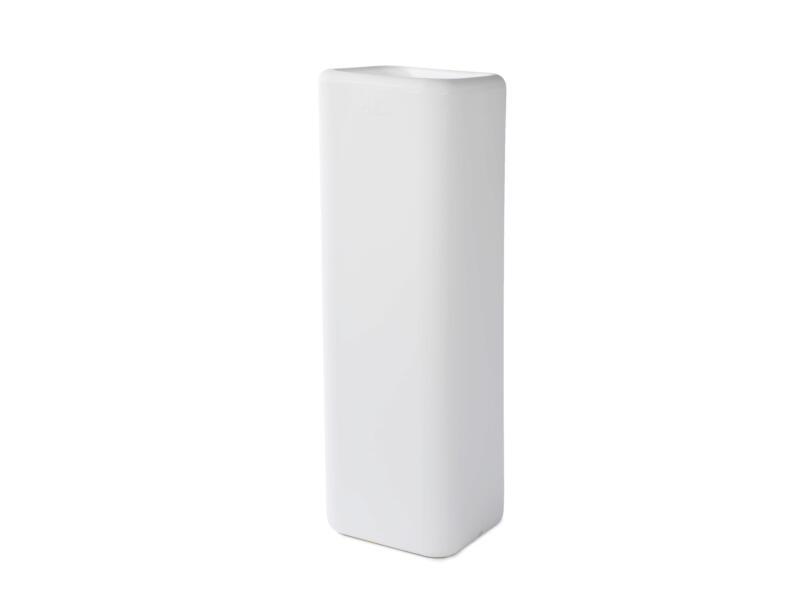Murus 27 pot à fleurs colonne 27x27 cm blanc