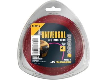 Universal NLO 015 fil pour coupe-bordures 3mm 10m