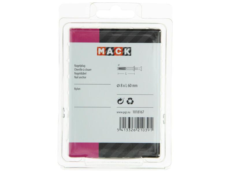 Mack Nagelpluggen 8x60 mm 25 stuks