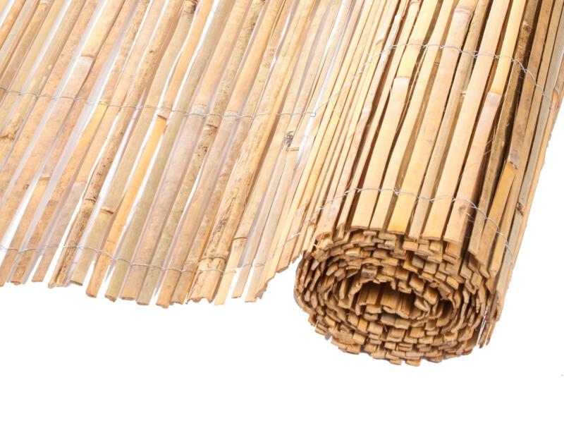Natte brise-vue en bambou 150x500 cm