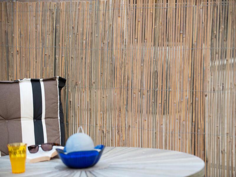 Natte brise-vue en bambou 200x500 cm