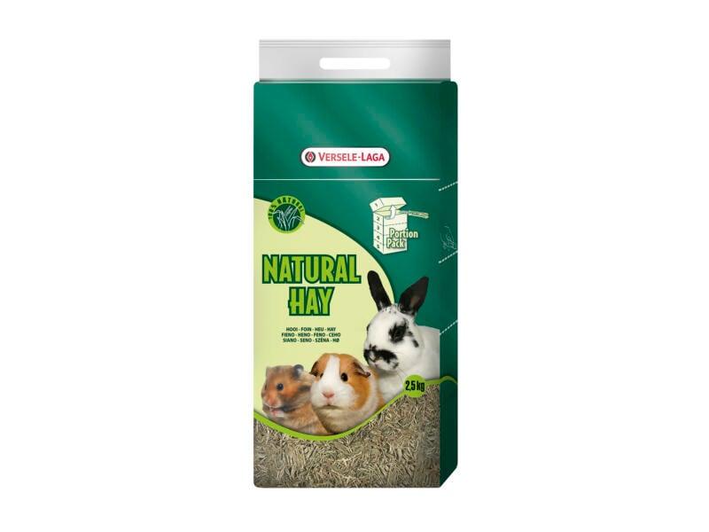 Natural Hay Portion Pack hooi 2,5kg