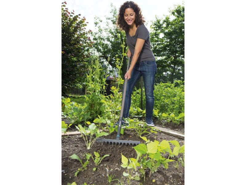 Gardena Natureline râteau de jardin 36cm 14 dents + manche