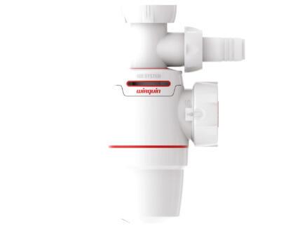 Wirquin Neo Air siphon évier 40mm + raccord machine à laver
