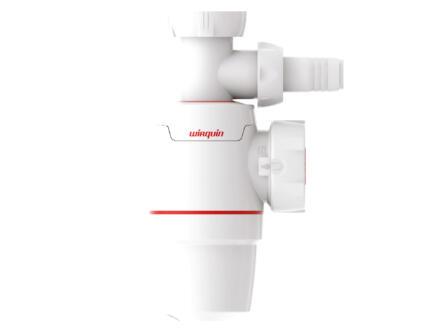 Wirquin Neo sifon spoeltafel 40mm + aansluiting wasmachine