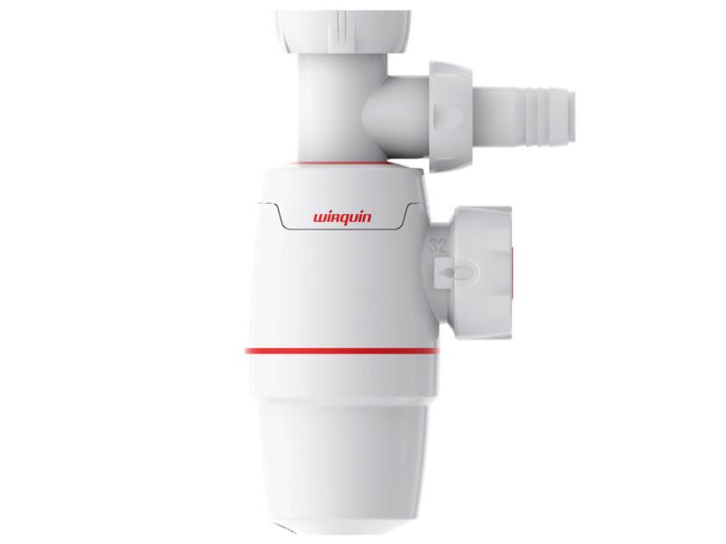 Wirquin Neo siphon lavabo 32mm + raccord machine à laver