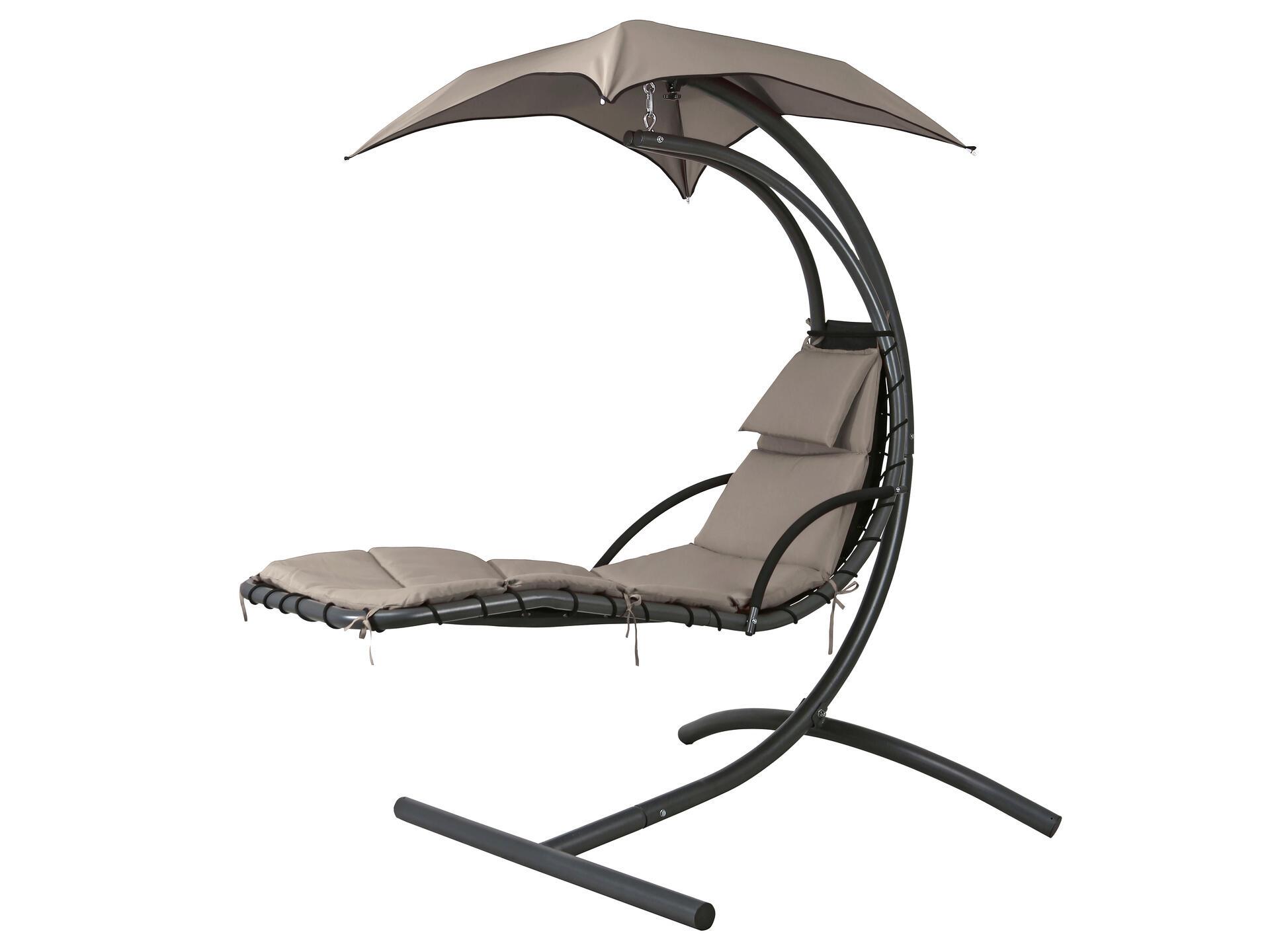 Fauteuil Suspendu D Exterieur garden plus nerja fauteuil suspendu gris