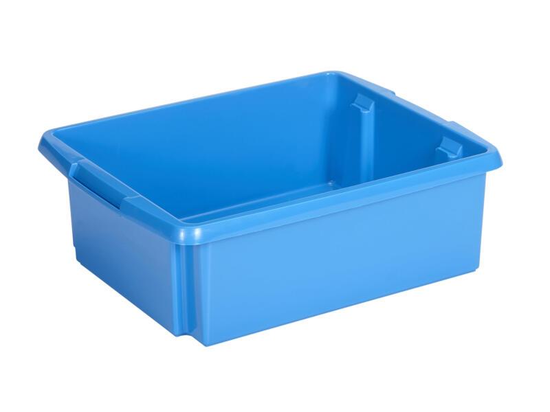 Sunware Nesta bac de rangement 17l bleu