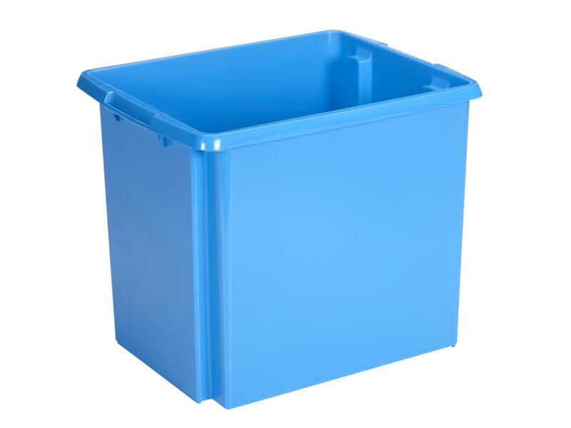 Sunware Nesta bac de rangement 45l bleu