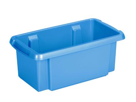 Sunware Nesta bac de rangement 7l bleu