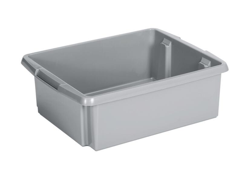 Sunware Nesta opbergbox 17l zilver
