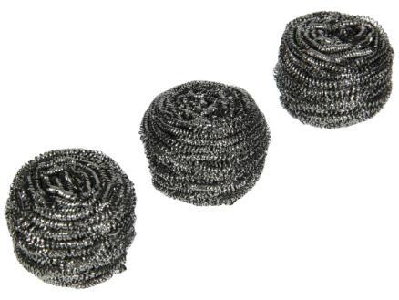 Nicols Netinox éponge métallique 3 pièces
