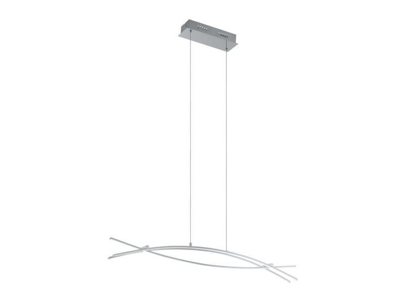 Eglo Nevado suspension LED 3x9 W chrome/blanc