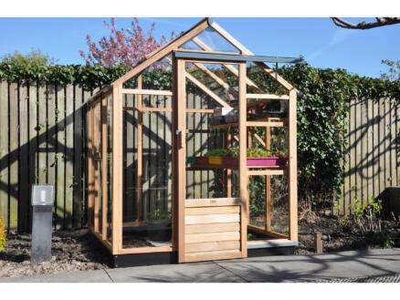 Juliana New Classic 66 serre de jardin verre de sécurité bois