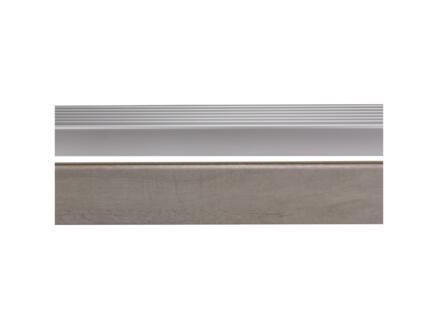 CanDo Nez de marche 130x5 cm burgos chêne gris clair