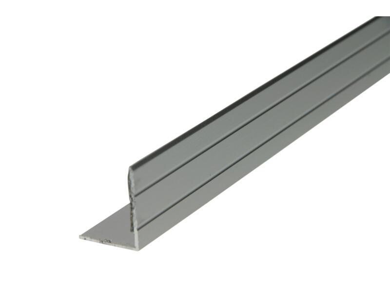 Arcansas Nez de marche autocollant 1,8m 25x20 mm aluminium mat anodisé