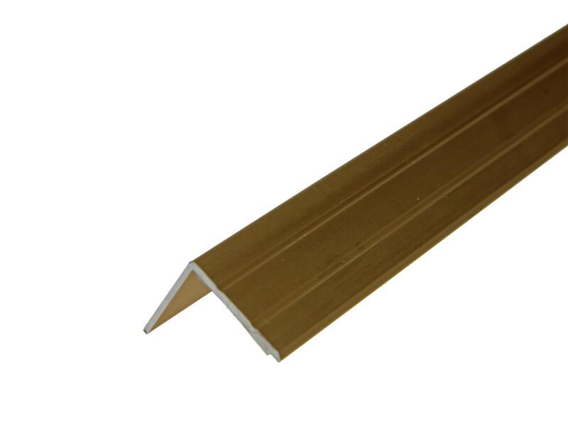 Arcansas Nez de marche autocollant 1,8m 25x20 mm aluminium or