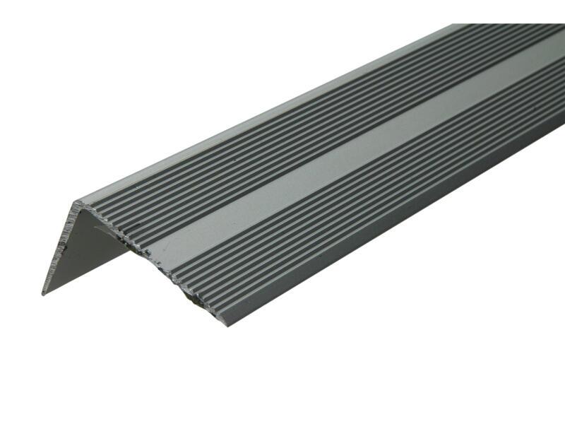 Arcansas Nez de marche autocollant 1,8m 42x26 mm aluminium mat anodisé