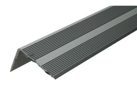 Arcansas Nez de marche autocollant 1m 42x26 mm aluminium