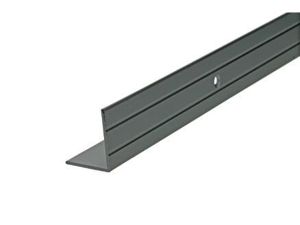Arcansas Nez de marche vis visible 1,8m 25x20 mm aluminium