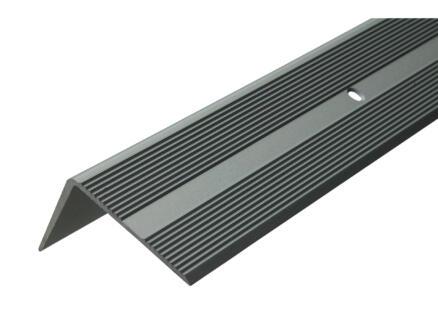 Arcansas Nez de marche vis visible 1,8m 42x26 mm aluminium