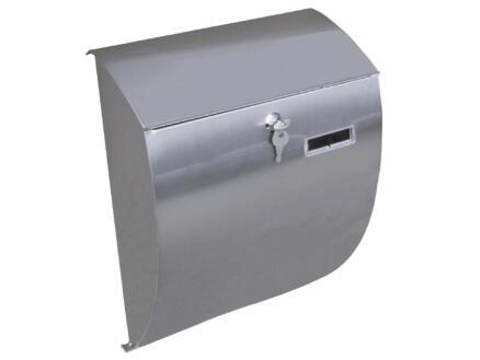 Perel Nice brievenbus inox