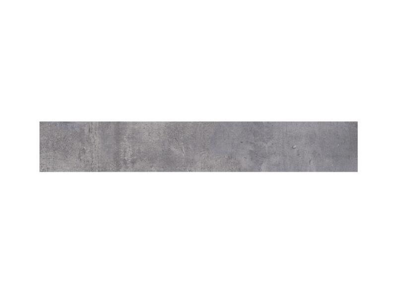 Nice keramische plint 7,2x45 cm cenere 2,25lm/doos