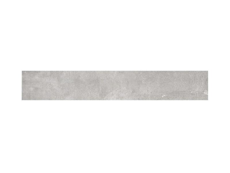 Nice keramische plint 7,2x45 cm grigio 2,25lm/doos