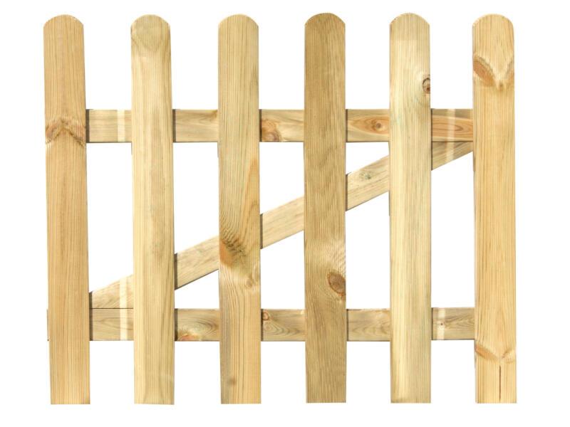 Nicolette poort 100x80 cm hout