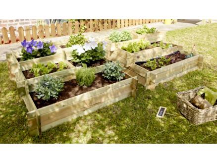 Garden Plus Nikita carré potager 93x93x36 cm