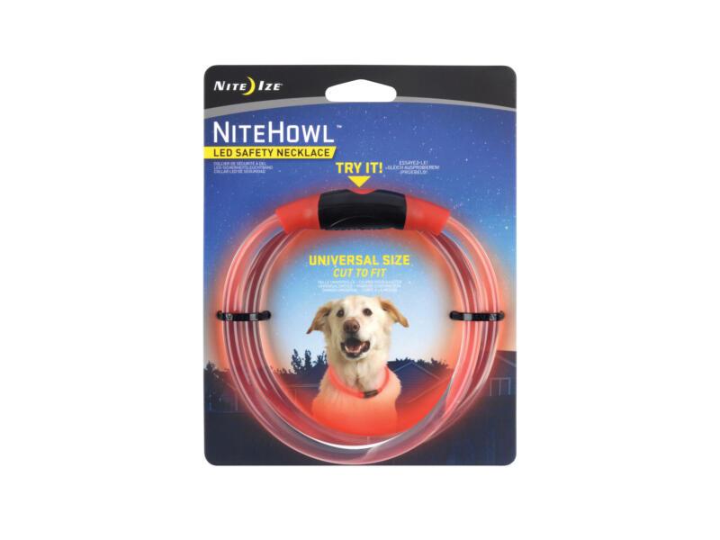 Nite Ize NiteHowl LED halsband 68,58x0,76 cm rood