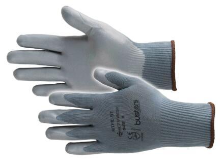 Busters Nitril Fit gants de travail XL nylon gris