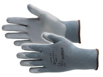 Busters Nitril Fit werkhandschoenen L nylon grijs