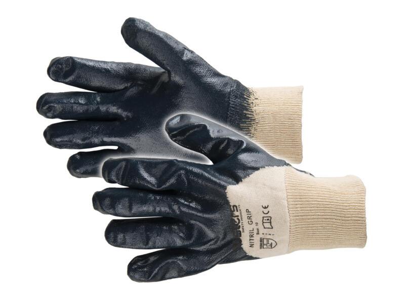Busters Nitril Grip gants de travail 10/XL bleu