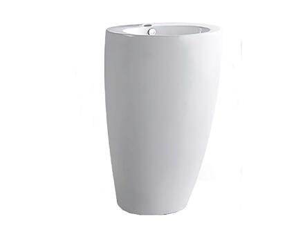 Noa lavabo conique 83cm céramique