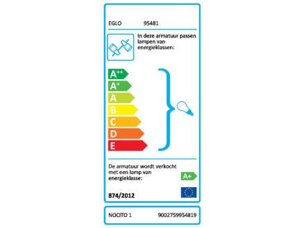 Eglo Nocito 1 LED balkspot GU10 4x3,3 W chroom/wit