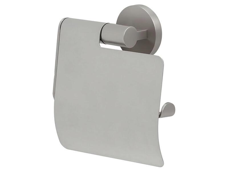 Tiger Noon porte-papier toilette avec clapet acier inox