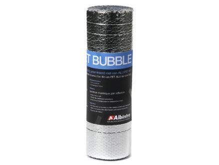 Noppenfolie aluminium 12,5m x 60cm R0,2 7,5m²