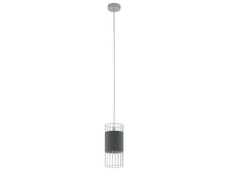 Eglo Norumbega hanglamp E27 max. 60W 14cm grijs/wit