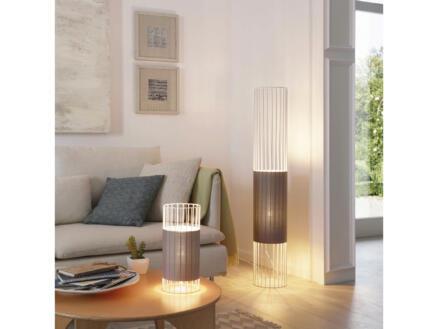 Eglo Norumbega tafellamp E27 max. 60W grijs/wit