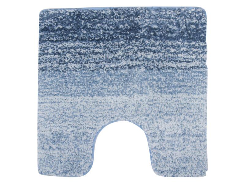 Differnz Nowa WC-mat 60x60 cm blauw