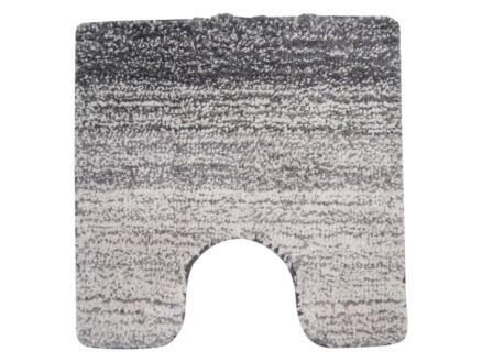 Differnz Nowa tapis WC 60x60 cm gris