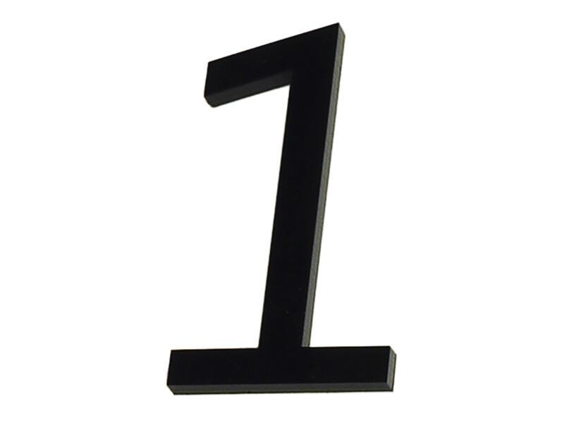 Numéro de maison 1 polyester 9cm